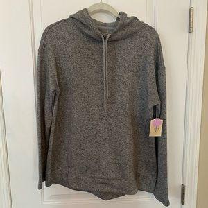 Women's gray pullover hoodie medium